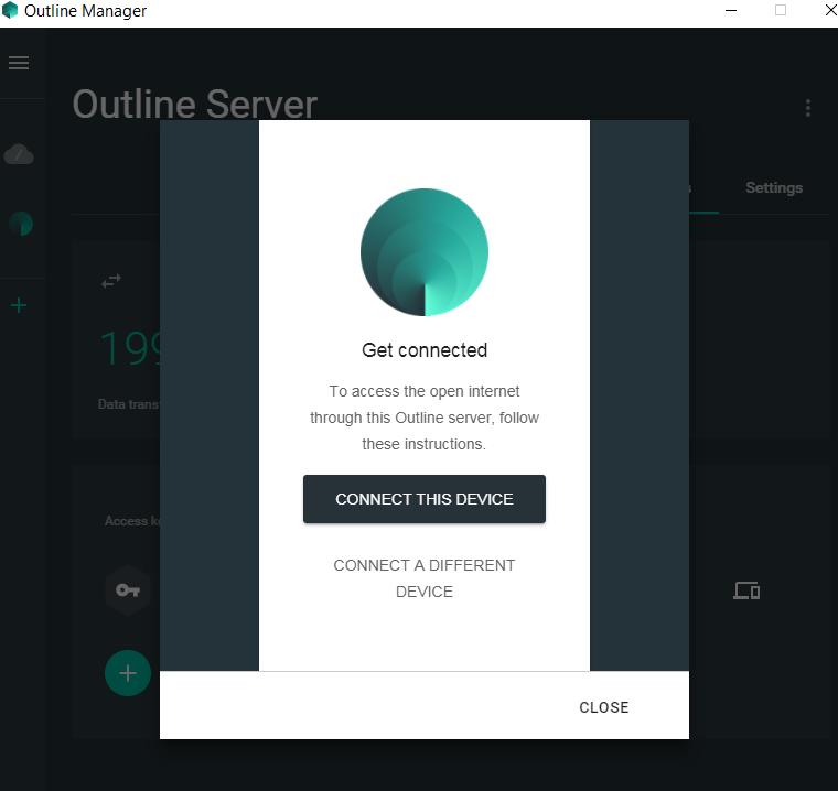 Device Outline VPN Client