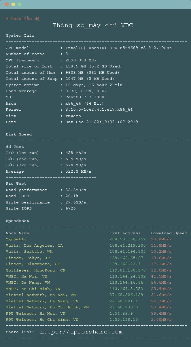 Test-tocdo-cloud-server-VDC